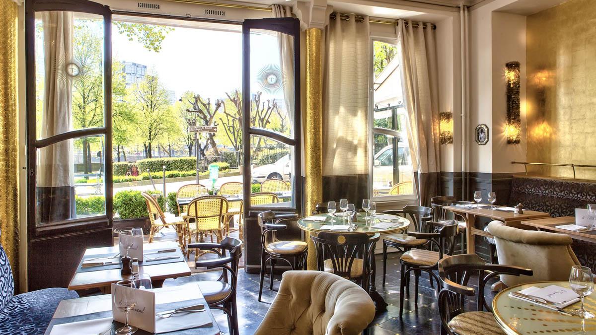 Restaurant le tournesol paris for Le miroir resto paris